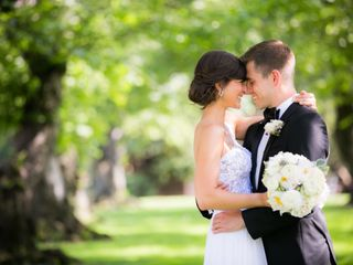 The wedding of Kimberly and John