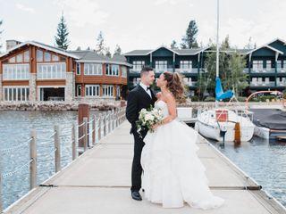 The wedding of Tia and Tyler