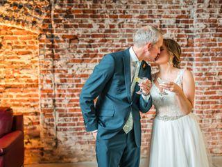 The wedding of Brooke and John