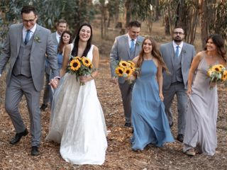 The wedding of Taylor and Carson Wright 1
