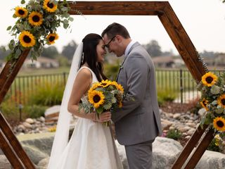 The wedding of Taylor and Carson Wright