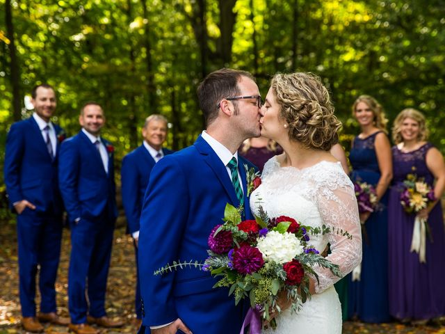 The wedding of Laura and Ryan