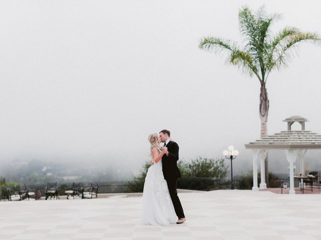 The wedding of Courtney and Brad