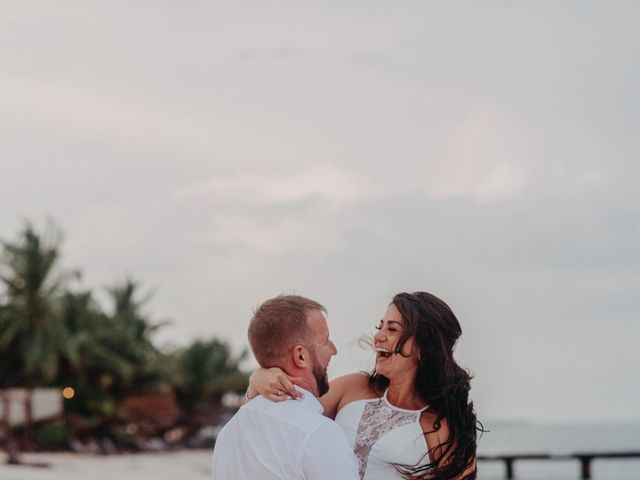 Kurt and Andra's Wedding in Cancun, Mexico 34