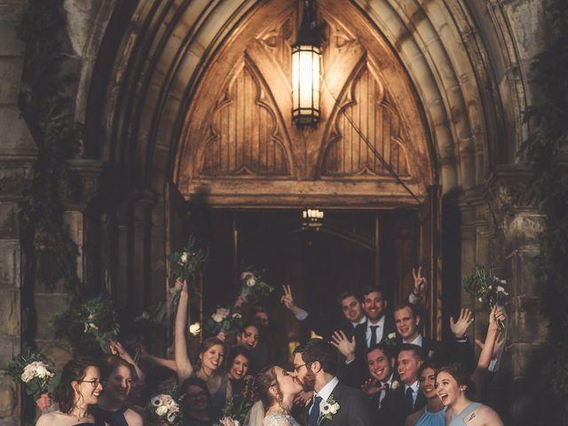 Caroline and Thomas's Wedding in Detroit, Michigan 14