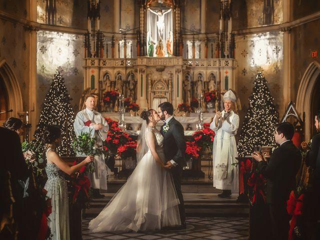 Caroline and Thomas's Wedding in Detroit, Michigan 19