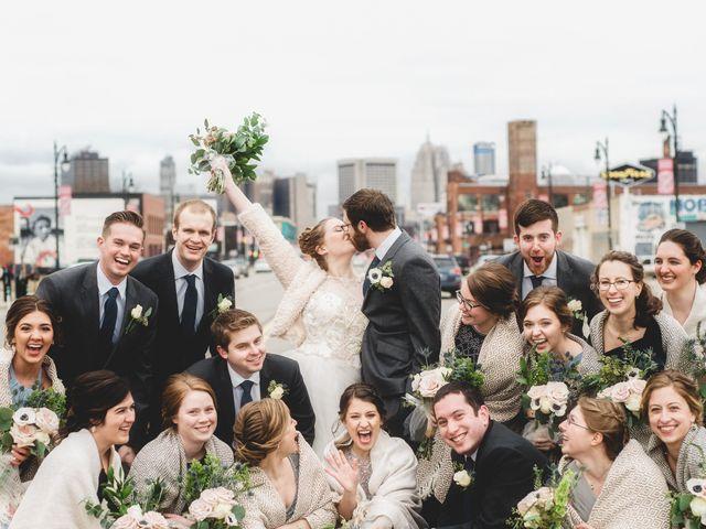 Caroline and Thomas's Wedding in Detroit, Michigan 26