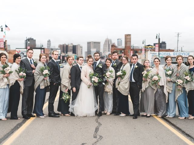 Caroline and Thomas's Wedding in Detroit, Michigan 1