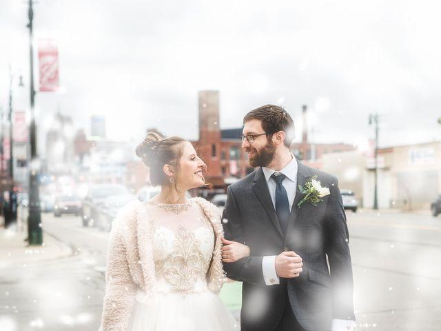 Caroline and Thomas's Wedding in Detroit, Michigan 32