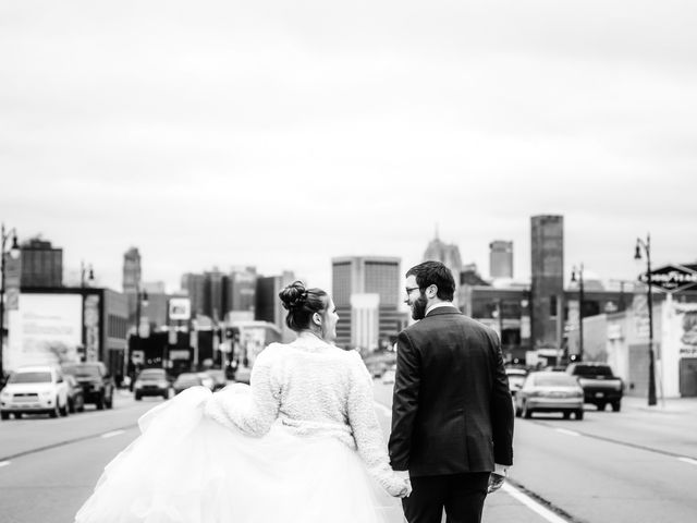 Caroline and Thomas's Wedding in Detroit, Michigan 33