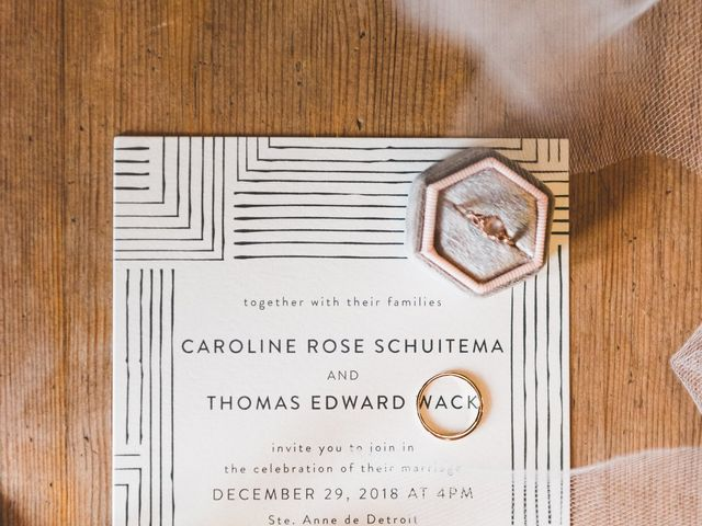 Caroline and Thomas's Wedding in Detroit, Michigan 43