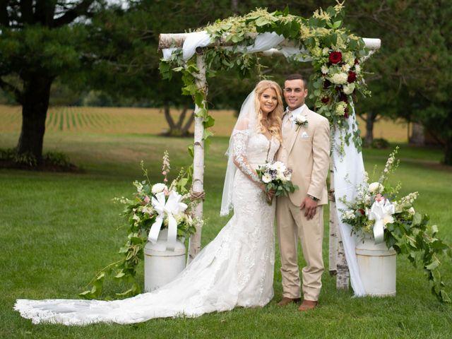 The wedding of Kayla and Ben