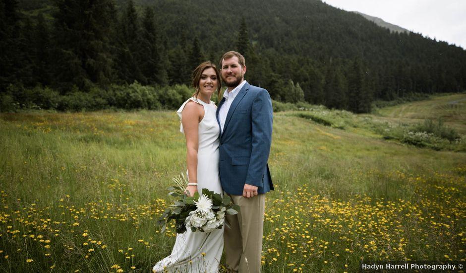 Clint and Bailey's Wedding in Girdwood, Alaska