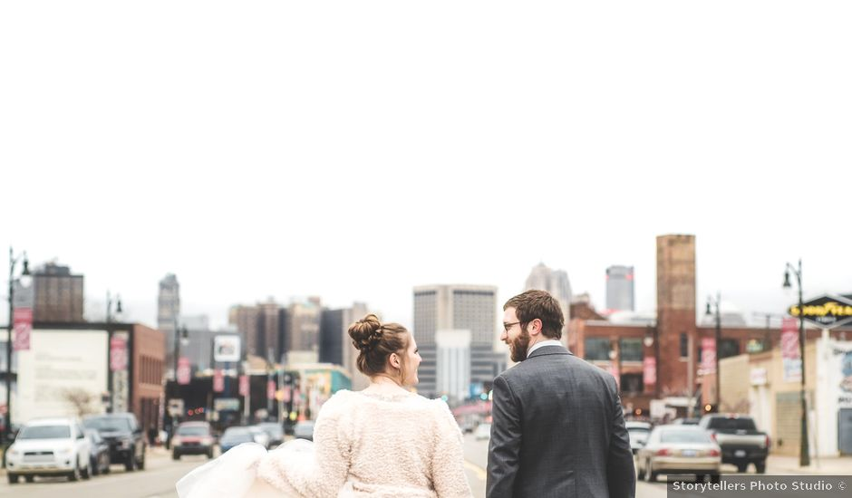 Caroline and Thomas's Wedding in Detroit, Michigan