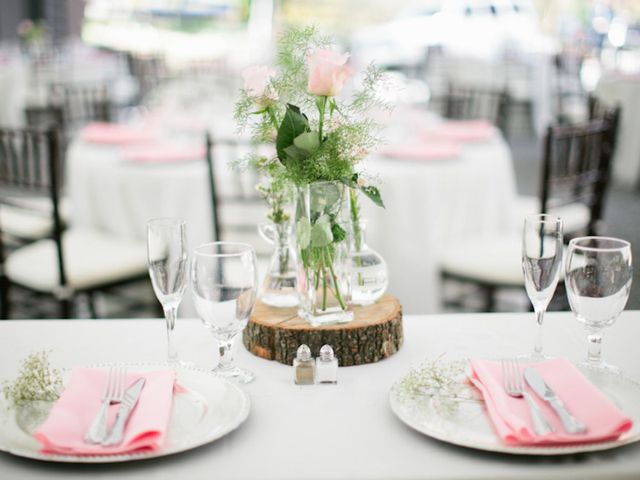 Ashley and Scott's Wedding in Andrews, North Carolina 10