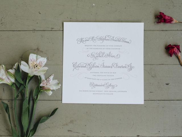 Rachel and Ward's Wedding in New Orleans, Louisiana 1