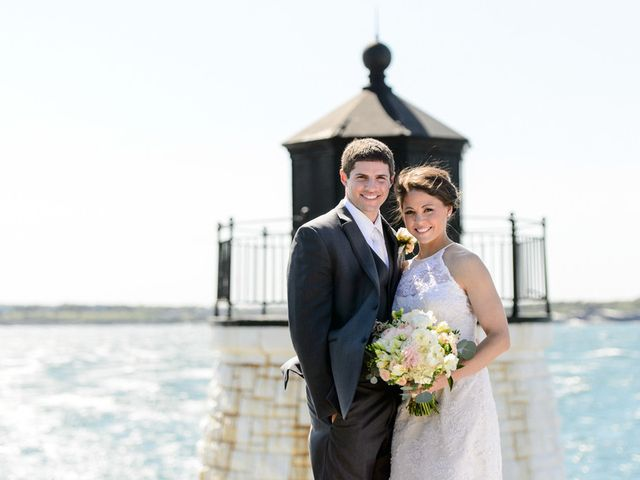 Courtney and Jeff's Wedding in Newport, Rhode Island 1