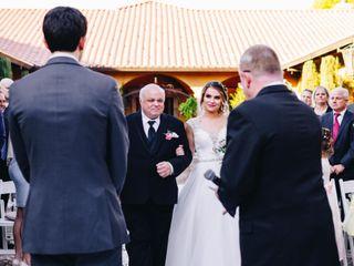 The wedding of Angela and Josh 1