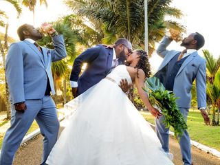 The wedding of Keisha and Quincy 1