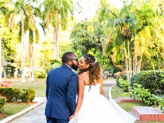 The wedding of Keisha and Quincy