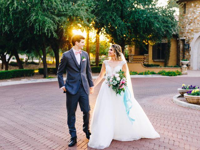 The wedding of Angela and Josh