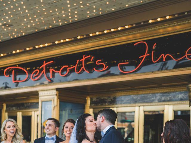 Jill and Jillian's Wedding in Detroit, Michigan 27