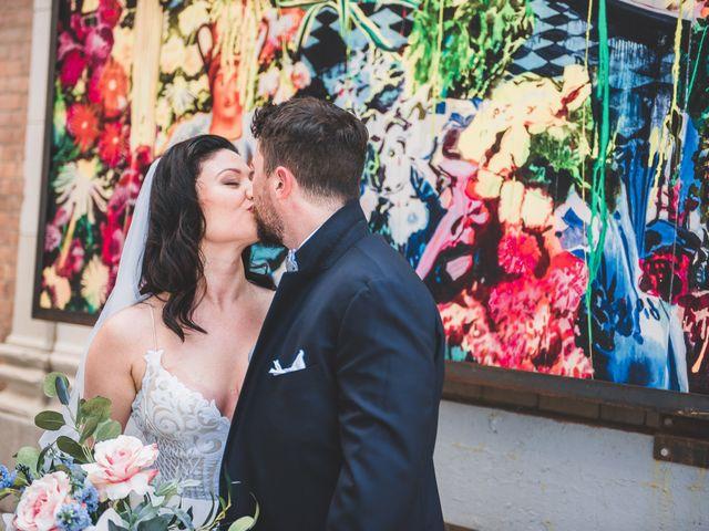 Jill and Jillian's Wedding in Detroit, Michigan 28