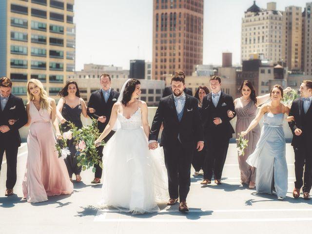 Jill and Jillian's Wedding in Detroit, Michigan 31