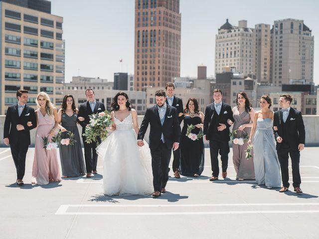 Jill and Jillian's Wedding in Detroit, Michigan 32