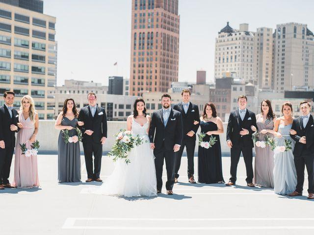 Jill and Jillian's Wedding in Detroit, Michigan 34