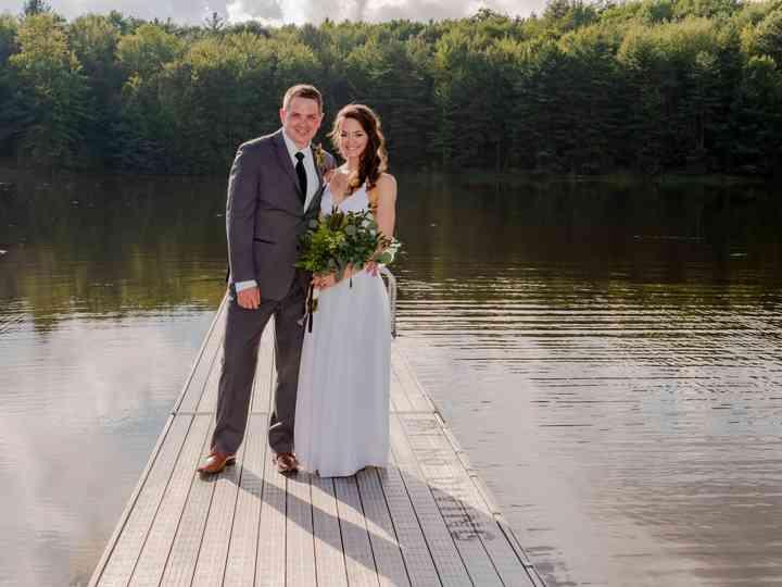 The wedding of Heather and Eric