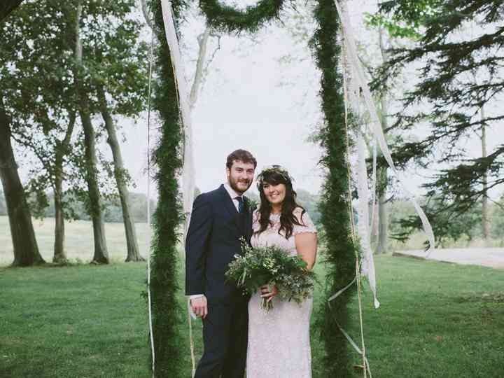 The wedding of Justin and Jessi