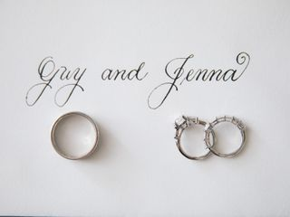 The wedding of Jenna and Guy 1