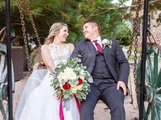The wedding of Katelynn and David