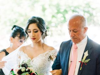 The wedding of Alex and Kim 1