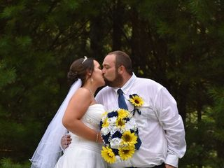 The wedding of Brooke  and Shane 1