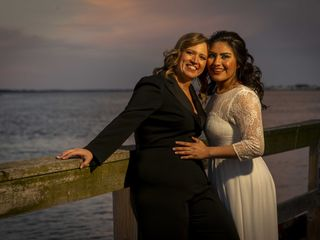 The wedding of Maggie and Alejandra 2