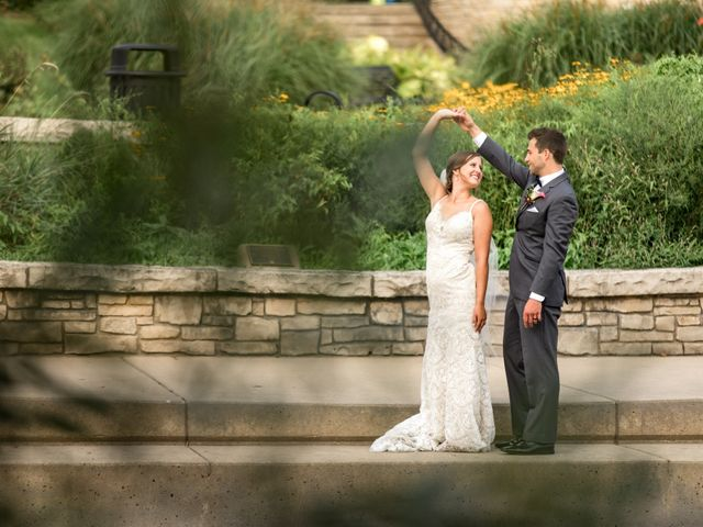 The wedding of Alyssa and Spencer