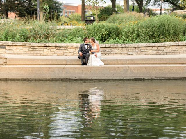 Spencer and Alyssa's Wedding in Elgin, Illinois 19