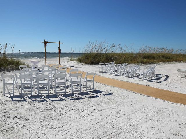 Kevin and Melanie's Wedding in Fort Myers Beach, Florida 7
