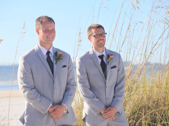 Kevin and Melanie's Wedding in Fort Myers Beach, Florida 8