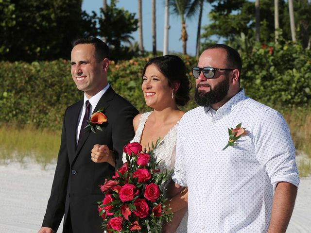 Kevin and Melanie's Wedding in Fort Myers Beach, Florida 9