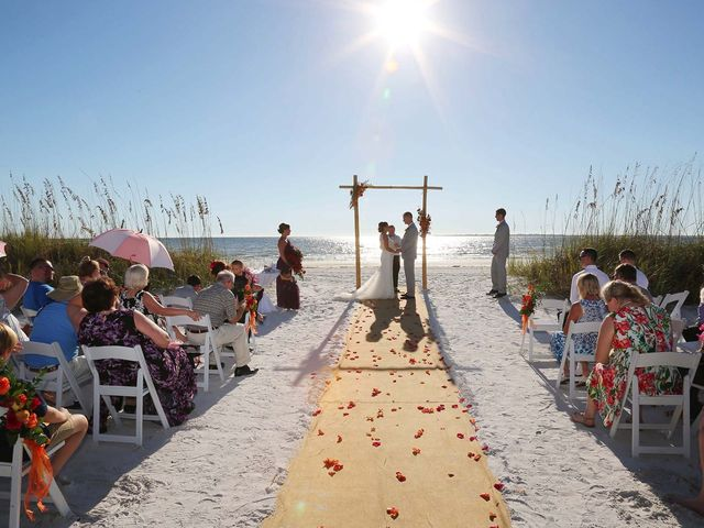 Kevin and Melanie's Wedding in Fort Myers Beach, Florida 10