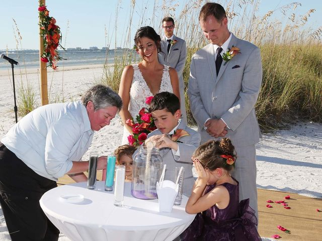 Kevin and Melanie's Wedding in Fort Myers Beach, Florida 11