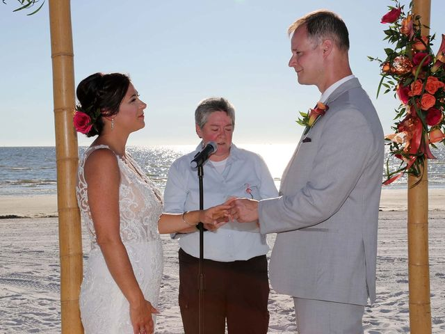 Kevin and Melanie's Wedding in Fort Myers Beach, Florida 13