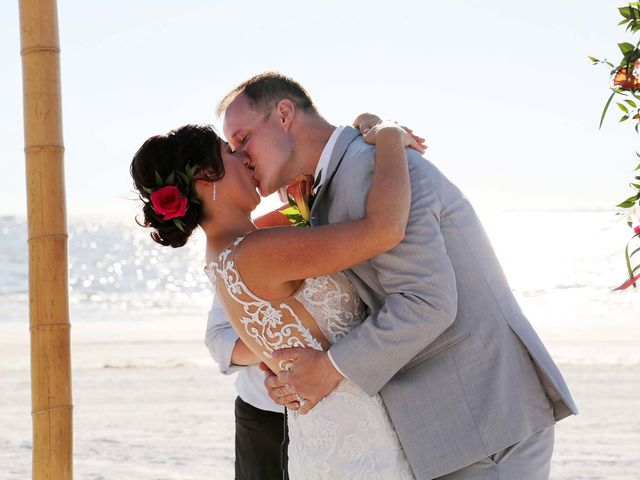 Kevin and Melanie's Wedding in Fort Myers Beach, Florida 15