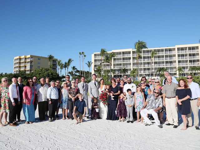Kevin and Melanie's Wedding in Fort Myers Beach, Florida 16