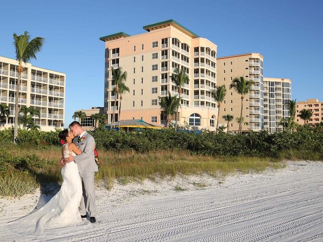 Kevin and Melanie's Wedding in Fort Myers Beach, Florida 1