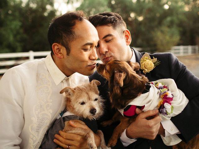 Nic and Allen's Wedding in Los Angeles, California 1