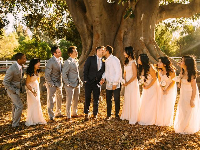 Nic and Allen's Wedding in Los Angeles, California 29